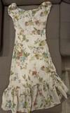 Vestido Estampado Floral Talla 38 (Zara TRF)