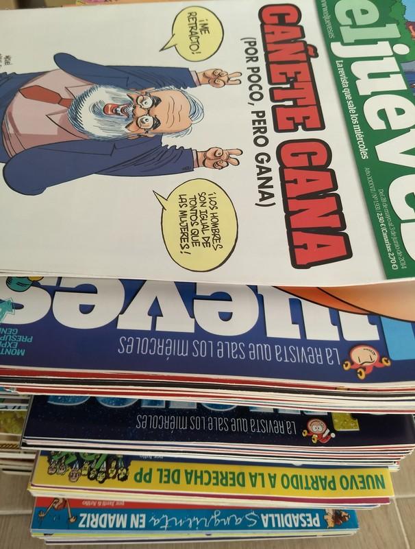104 Revistas El Jueves