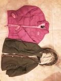 Regalo 2 abrigos talla  7-8 niñas