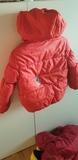 Abrigo niño/niña talla 5/6 rojo  Sof