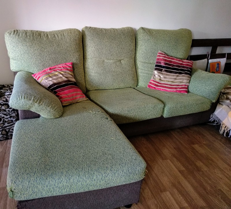 Regalo sofá chaiselongue