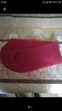 Cuello bufanda rosa