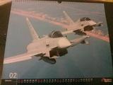 Regalo calendario Eurofighter