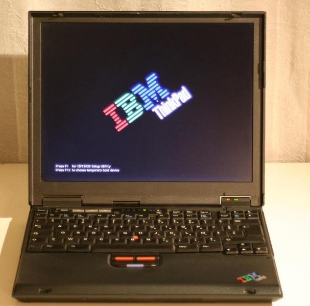 portatil ibm T20