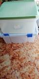 2 cajas de almacenamiento