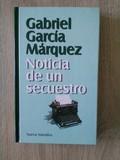 Libro Noticia de un secuestro - G.Gª. Márquez