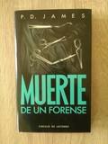 Libro Muerte de un forense - P.D. James.