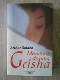 Libro Memorias de una Geisha. A. Golden