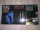 LOTE 3 -  3 Libros Robin Cook