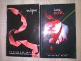 LOTE 4  -  2 Libros.  Luna Nueva y Eclipse. S. Meyer