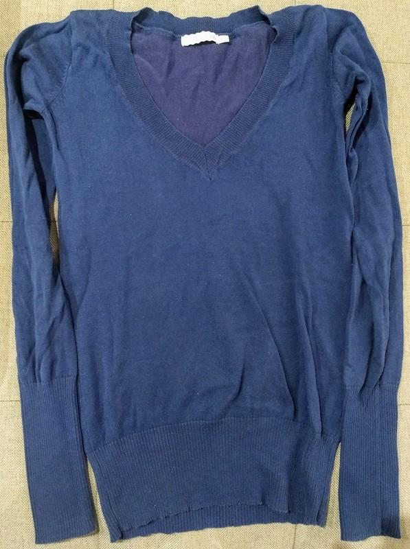 Jersey Azul Mujer Talla S (Bershka)