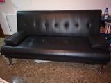 Sofá cama click negro