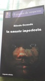 "Libro de intriga y suspense ""La amante imperfecta"""