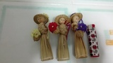 Tres muñequitas de adorno(mayte8)
