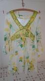 Bluson con dibujos amarillos/verdes. Talla L(mayte8)