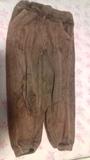 Pantalón de felpa talla 2-3
