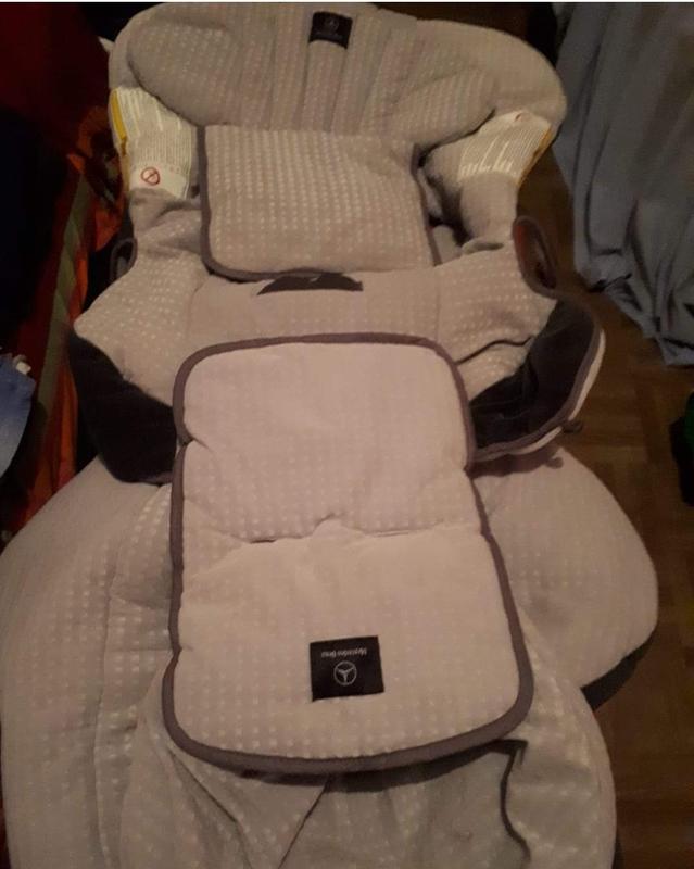 Funda de silla de bebe para auto