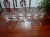 6 copas cristal