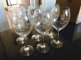 6 copas de vino sin estrenar