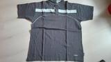 Camiseta/polo manga corta, gris oscuro. Talla L/G(mayte8)