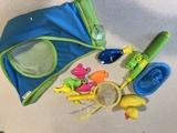 Regalo juguetes bañera y bolsa