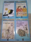 4 Libros. Barco de Vapor. Serie Azul. A partir de 7 años.