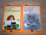 2 Libros. Barco de Vapor. Serie Naranja. A partir de 9 años.