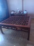 Regalo mesa de centro con sobre de cristal