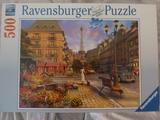 Puzzle de 500 piezas.