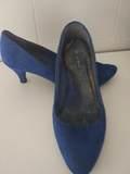 Zapato azul 37