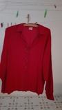 Camisa roja, manga larga. Talla 48  (SelinaKyle)