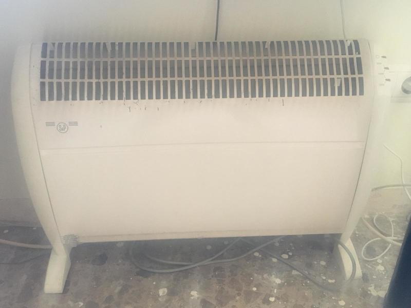 calefactor eléctrico S&P