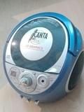 Radio CD Karaoke sin botón de encender