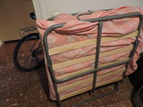 Regalem llit plegable i bicicleta