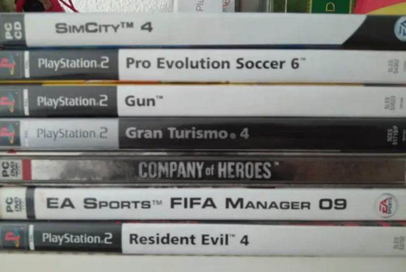 Juegos de PC y Play Station 2