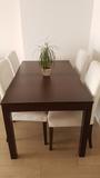 Sofá 3 plazas y mesa comedor con 4 sillas