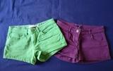 Regalo 2 Pantalones cortos de mujer talla 36.
