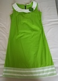 Regalo vestido de mujer verde talla S. (butterfly17)