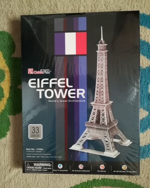 Regalo puzzle 3D de la Torre Eiffel. (SelinaKyle)