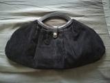 Regalo bolso negro de pana (para invierno). (SelinaKyle)