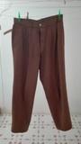 Pantalón caballero marrón/caqui. Talla 42