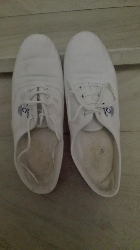 Zapatillas blancas, talla 40