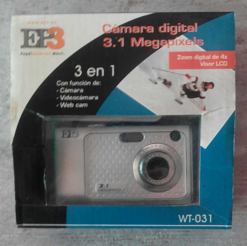 CAMARA DIGITAL de 3 MP  (carima)
