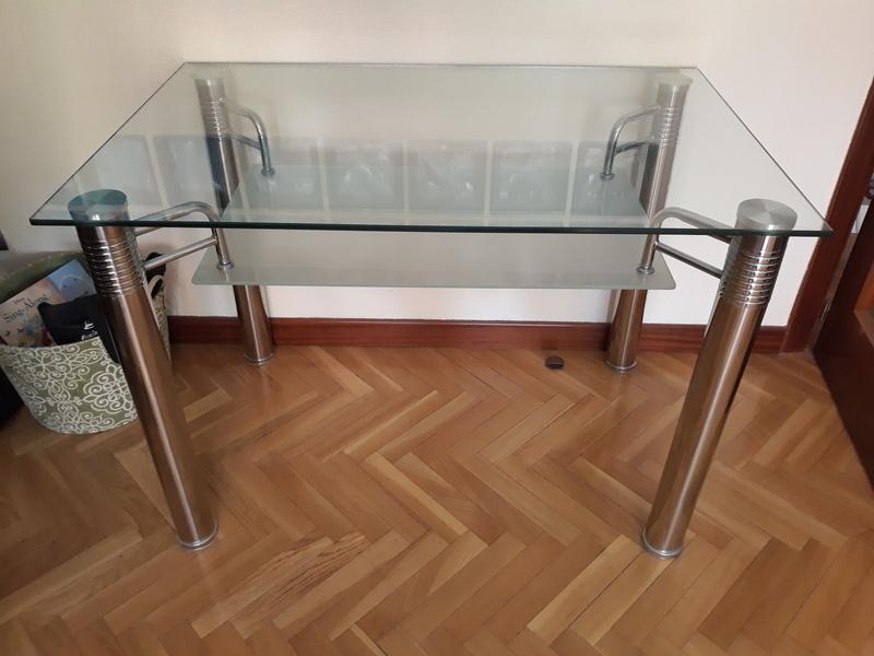 Mesa cristal 110cm x 70cm