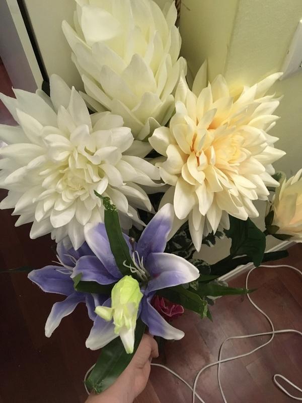 Flores gigantes urge