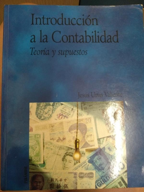 Regalo libro Introducción a la contabilidad