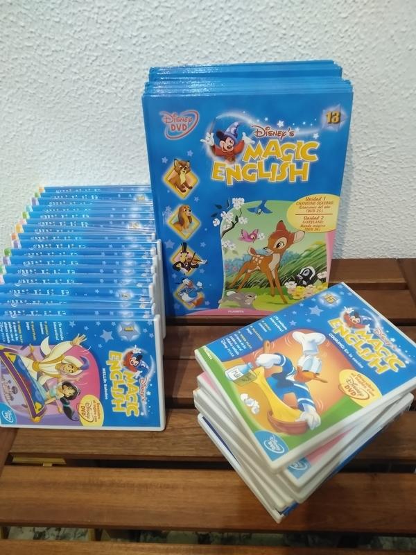 Regalo Colección Magic English Disney