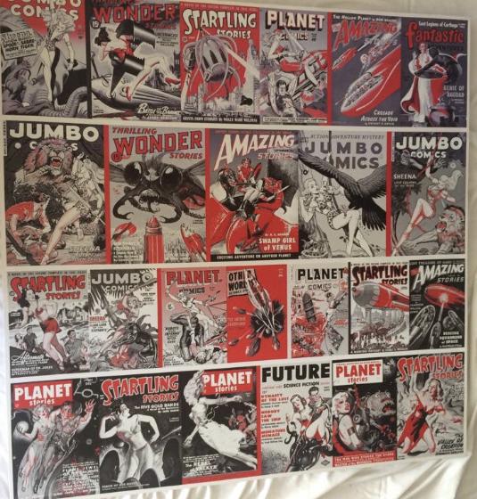 Cuadro Comics XL