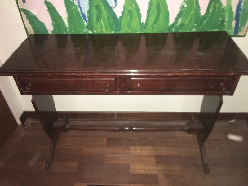 Mesa auxiliar-comoda de madera