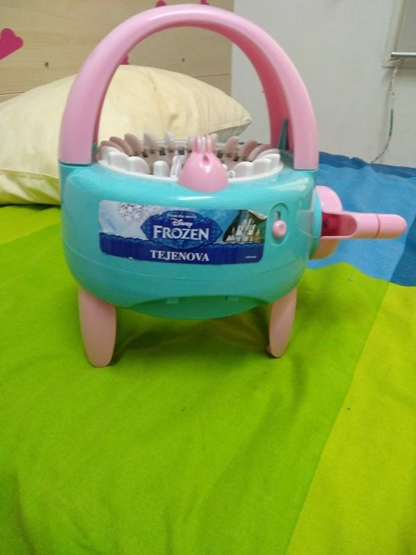 Regalo tejedora juguete